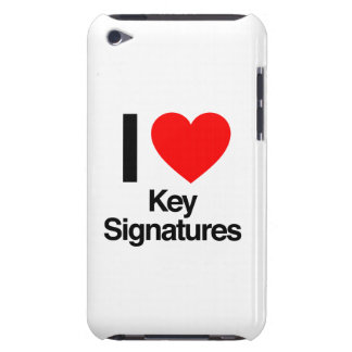 i love key signatures iPod touch covers