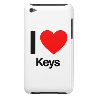 i love keys iPod touch cases