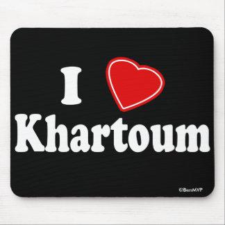 I Love Khartoum Mouse Pad