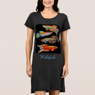 I Love Killifish Ladies Dress