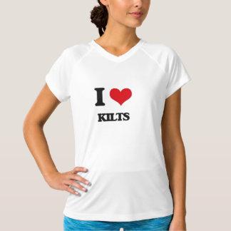 I Love Kilts T-shirts