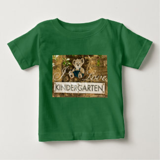 I Love Kindergarten Baby T-Shirt