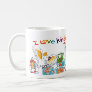 I Love Kindergarten Coffee Mug