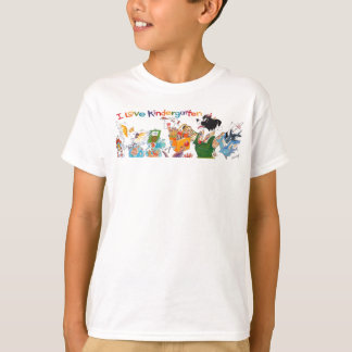 I Love Kindergarten kid's T-shirt