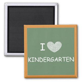 I Love Kindergarten Magnet