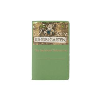 I Love Kindergarten Pocket Moleskine Notebook