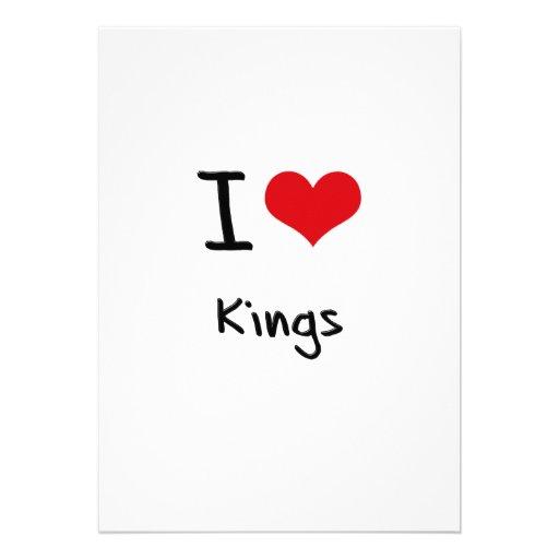 I love Kings Custom Invites