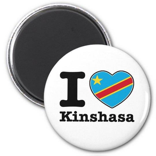 I love Kinshasa Magnet