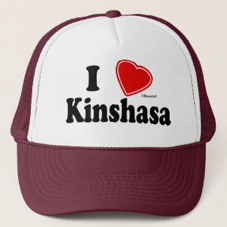 I Love Kinshasa Trucker Hat