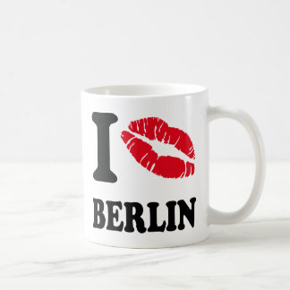 I love kiss heart BERLIN Coffee Mug