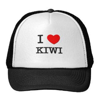 I Love Kiwi Trucker Hat