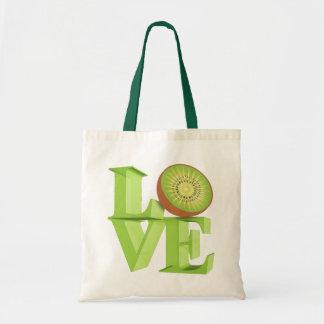 I LOVE KIWI(Kiwi Fruits/Kiwi Berry) Tote Bag