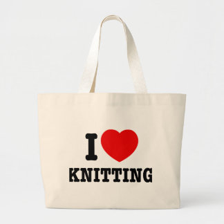 I Love Knitting Bag