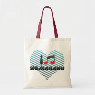 I Love Komagaku Canvas Bags
