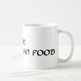 i Love Korean Food - Green Coffee Mug