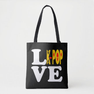 ♪♥I Love KPop Fabulous All-Over-Print Fab Tote♥♫ Tote Bag
