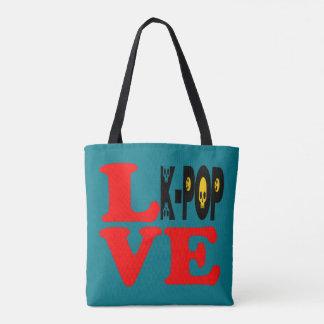 ♪♥I Love KPop Fabulous All-Over-Print Fab Tote♥♫ Tote Bag