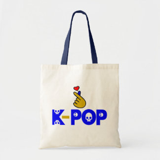 ♪♥I Love KPop Fabulous Chic Budget Tote Bag
