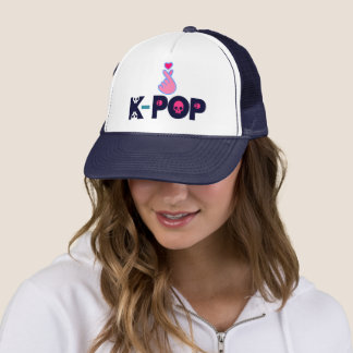 ♥I Love KPop Fabulous Chic & Stylish Trucker Trucker Hat