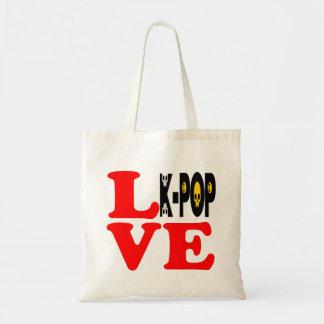 ♪♥I Love KPop Fabulous Classic Budget Tote Bag♥♫
