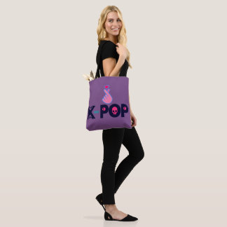 ♪♥I Love KPop Fabulous Classic Chic All-Over-Print Tote Bag