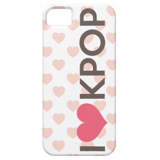 I Love Kpop iPhone 5 Cases
