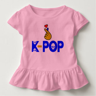 ♥I Love KPop Sporty, Stylish and Breathable Toddler T-Shirt