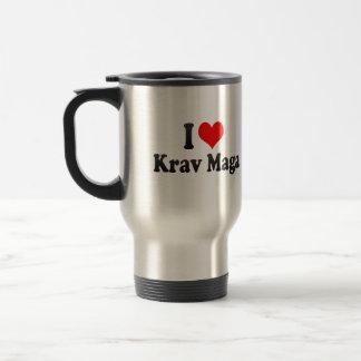 I love Krav Maga Mug