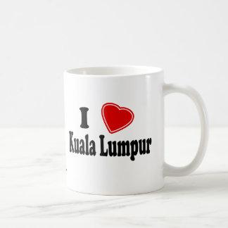 I Love Kuala Lumpur Basic White Mug