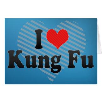 I Love Kung Fu Card