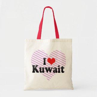 I Love Kuwait Tote Bag
