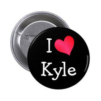 I Love Kyle Pins
