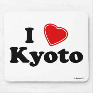 I Love Kyoto Mouse Pad
