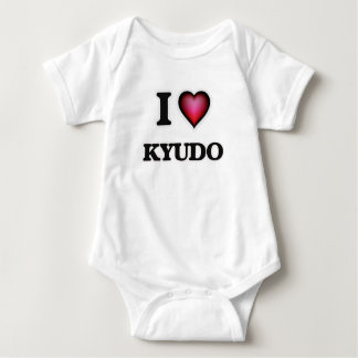I Love Kyudo Baby Bodysuit