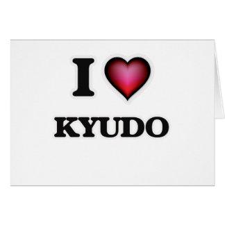 I Love Kyudo Card