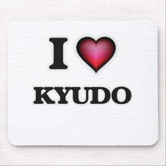 I Love Kyudo Mouse Pad