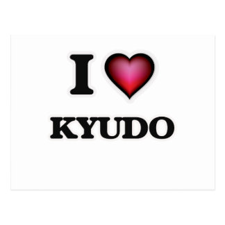 I Love Kyudo Postcard