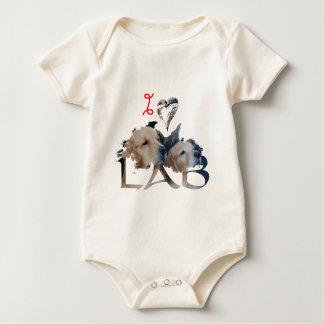 I love Lab Baby Bodysuit