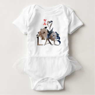 I love Lab Baby Bodysuit