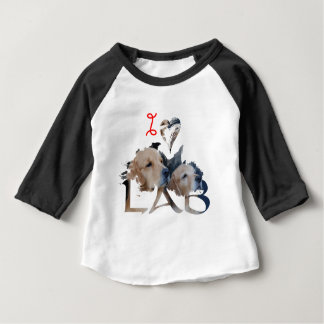 I love Lab Baby T-Shirt