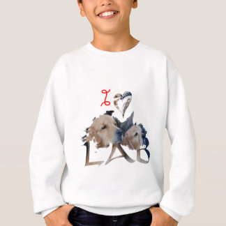 I love Lab Sweatshirt