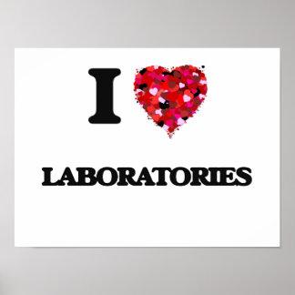 I Love Laboratories Poster