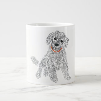 I Love Labradoodles Large Coffee Mug