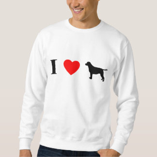 I Love Labrador Retrievers Sweatshirt