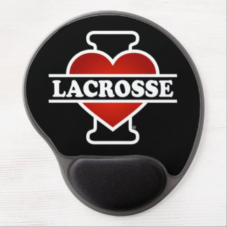 I Love Lacrosse Gel Mouse Pad