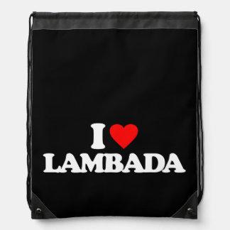 I LOVE LAMBADA BACKPACKS
