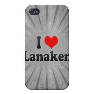 I Love Lanaken, Belgium Case For The iPhone 4