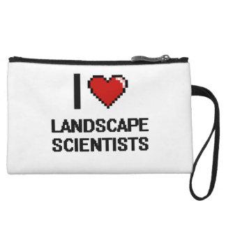 I love Landscape Scientists Wristlet Purse