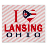 I love Lansing, Ohio Print