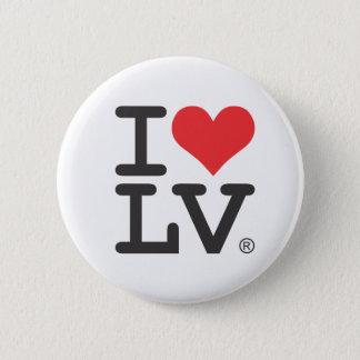 I Love Las Vegas 6 Cm Round Badge